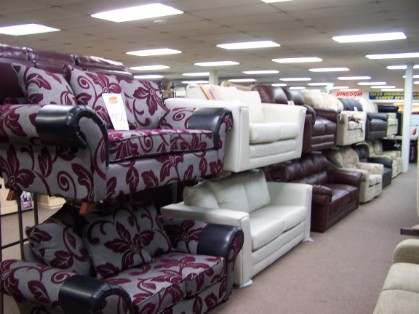 Plain and Patterned Sofas